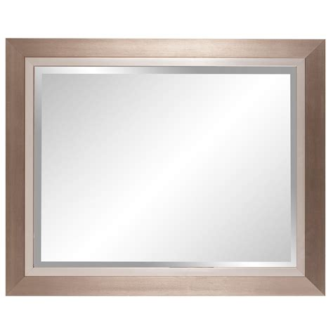 Design Ideas For Howard Elliott Mirrors Brushed Silver Rectangle Mirror Howard Elliott Collection Rectangle Mirrors Home Decor