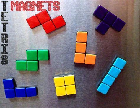 Tetrius Magnet Set by Tetris Magnet Set 7 Pieces Nintendo By Elvenstarclayworks