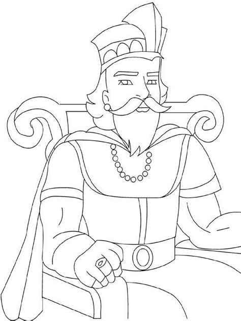 king on throne coloring page bible character coloring dessins de moyen age 224 colorier