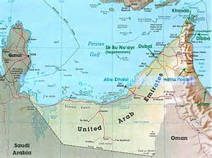 where is on map map uae map