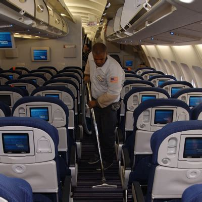 Cabin Cleaning by Aircraft Appearance Services Airways Llc