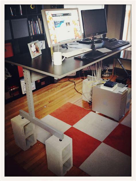 how to raise a desk standing desk day 1 nickvegas
