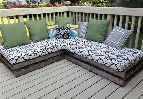 diy outdoor bench cushion pallet couch year two the cushions stored well and