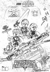 lego star wars coloring pages freemaker adventures