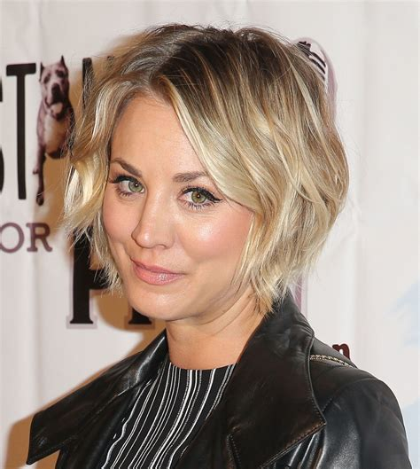 why kaley cuoco cut her hair how kaley cuoco bypassed the awkward stages in growing out