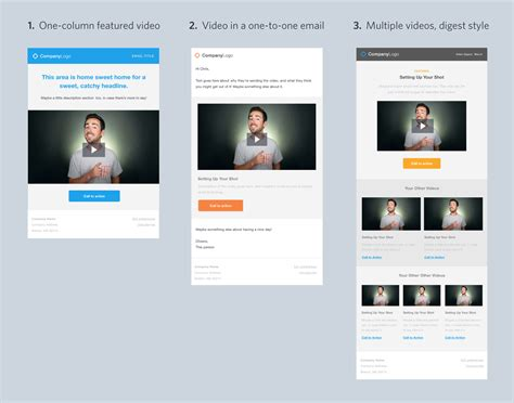4 free video email templates for download