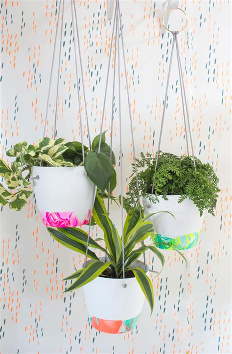 hanging plant diy 11 diy planter projects for spring the crafted life