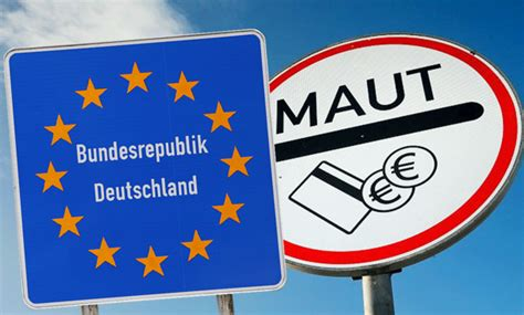 Pkw Versicherung Rechner Sterreich by Pkw Maut Deutschland Kosten Berechnung Update