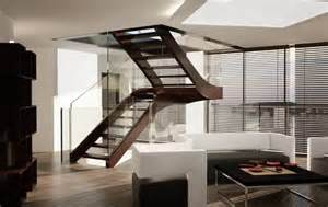 Corian Walls Indoor Stairs From Modern To Classic Sillerstairs