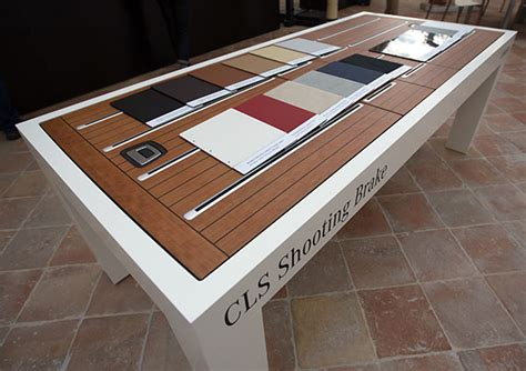 woodworking table cls mercedes cls shooting brake cherry trunk notcot