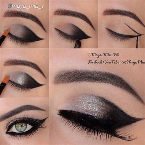 eye makeup tutorial no eyeliner how to look cute using cute makeup ideas