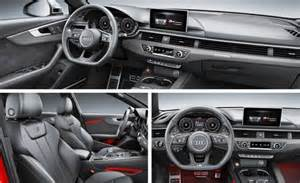 Audi S4 Interior 2017 Audi S4 Changes Release Date 2017 2018 Best Cars