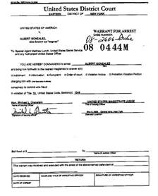 arrest warrant template using foreign computer evidence against an accused hacker