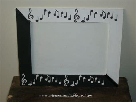 imagenes con motivos musicales mis artesanias nadia portarretrato notas musicales
