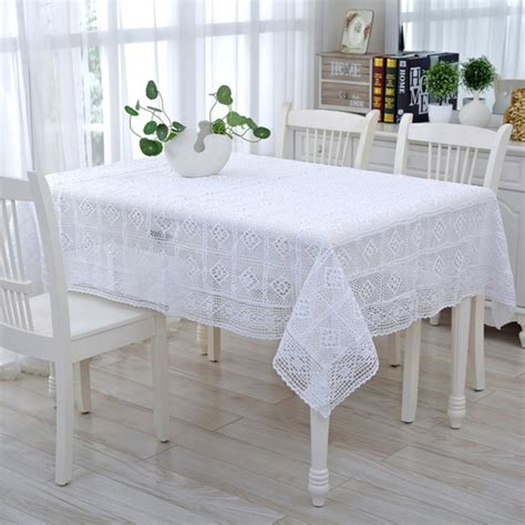 Handmade Table Cloth - aliexpress buy 2016 new white delicate cotton