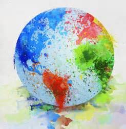 globe painting painting by setsiri silapasuwanchai