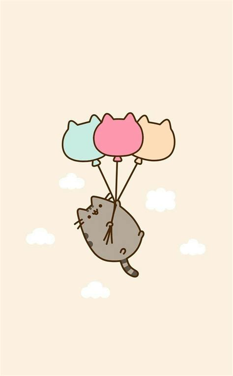 Wallpaper Like Cartoon | pusheen wallpaper pinteres