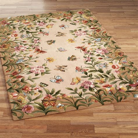 Where Can I Take My Area Rug To Be Cleaned Athena Garden Floral Area Rugs
