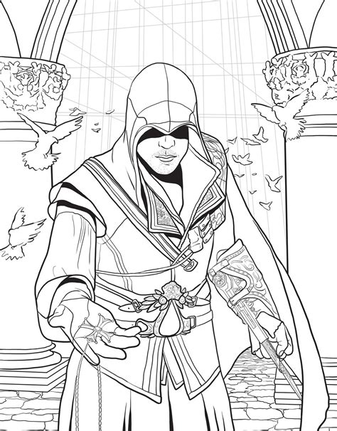 Assassin's Creed: The Official Coloring Book | Book by
