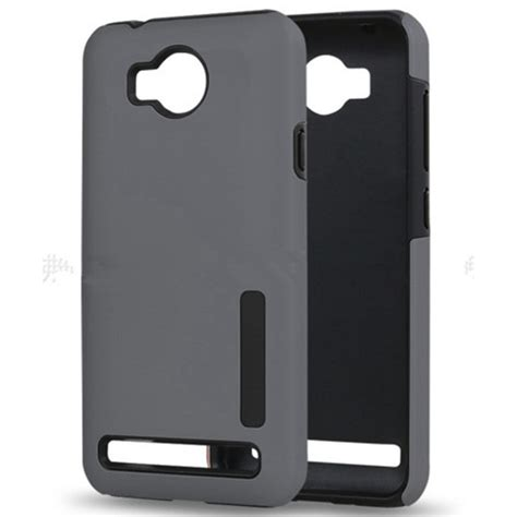 Casing Cover Huawei Y3 for huawei y3 ii slim hybrid dual layers pc tpu shock proof defender armor rubber for