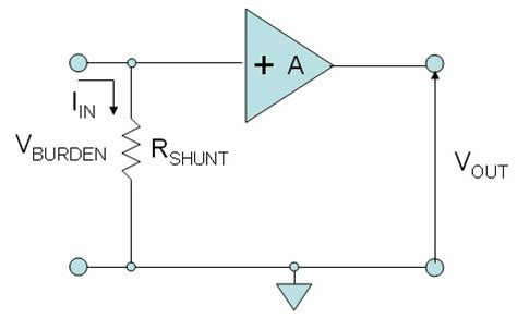 shunt resistor purpose how to minimize errors for low current measurements
