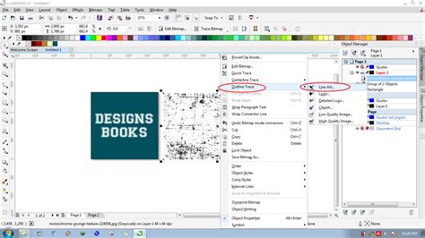 membuat outline text corel draw cara membuat text usang di coreldraw designs books