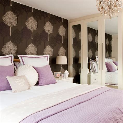 lavender bedroom walls lavender bedroom with feature wall bedroom decorating