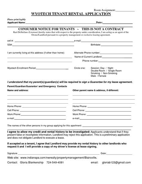 Application For Room Rental by Best Photos Of Single Room Rental Agreement Sle Lease