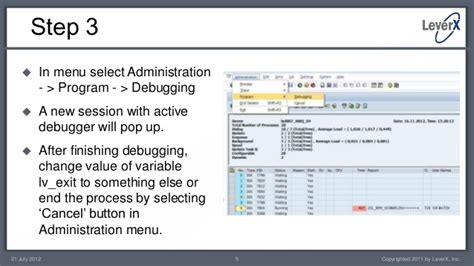 sap workflow administrator leverx abap essentials debugging sap workflow