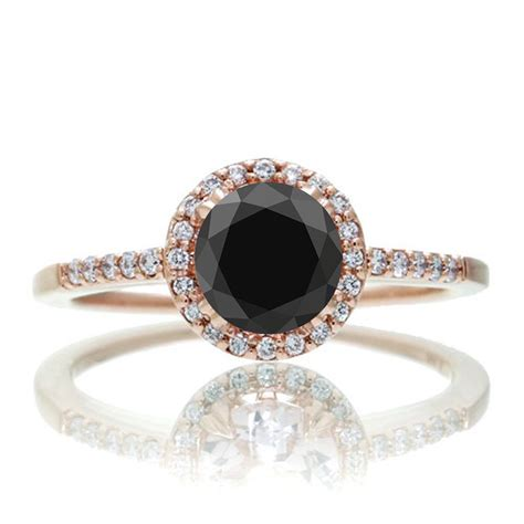 1 5 carat classic black and vintage