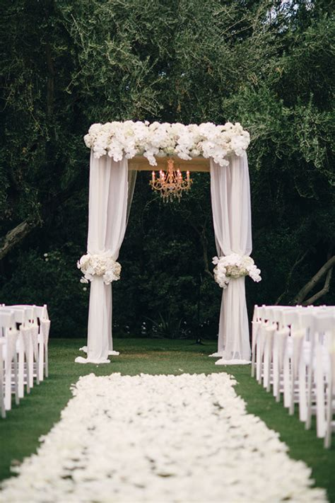 Wedding Backdrop With Chandelier by Attire Only Palm Springs Wedding