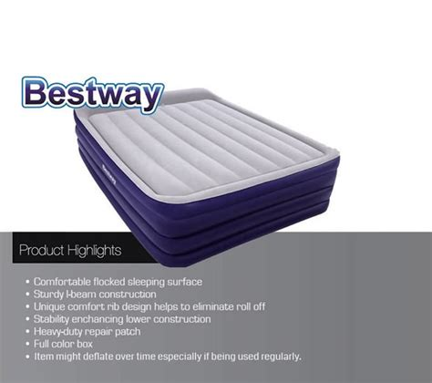 bestway comfort quest luxury air bed outbaxcing