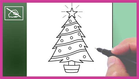 c 243 mo dibujar un 193 rbol de navidad 2 drawing a christmas