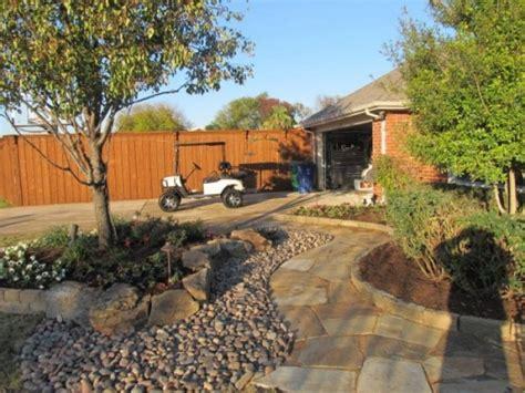Small Backyard Landscaping Ideas Arizona Gravel Amp River Rock Classic Rock Stone Yard