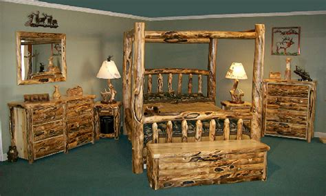 Log Furniture Bedroom Sets Aspen Collection Tahoe Furniture Company