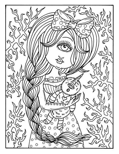 digital coloring book digital coloring book misfits creepy