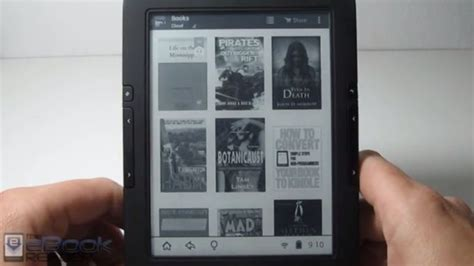 ebook reader android icarus illumina hd ereader runs android comes with kindle app liliputing