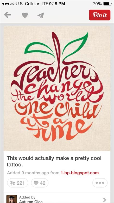 teacher tattoo designs best 25 tattoos ideas on teachers
