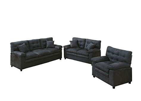 poundex bobkona colona 3 piece living room set reviews sofa set poundex bobkona colona mircosuede 3 piece sofa