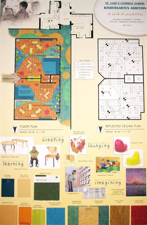 kindergarten classroom design board     samples