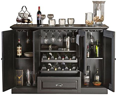 bar cabinet for modern middle room design ideas