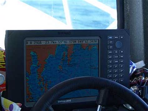 fishing boat gps charter boat returns to steward alaska