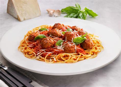 Food Prep Meals by Johnsonville Classic Meatballs Amp Spaghetti Johnsonville Com