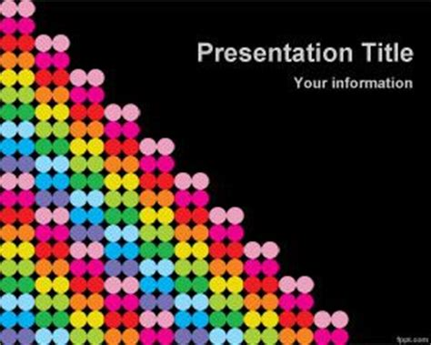 color dots powerpoint template