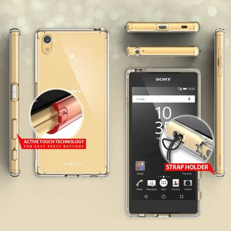 Rearth Ringke Sony Xperia Z5 Fusion Xperia Z5 Smoke Bla Berkualitas rearth ringke fusion sony xperia z5 clear