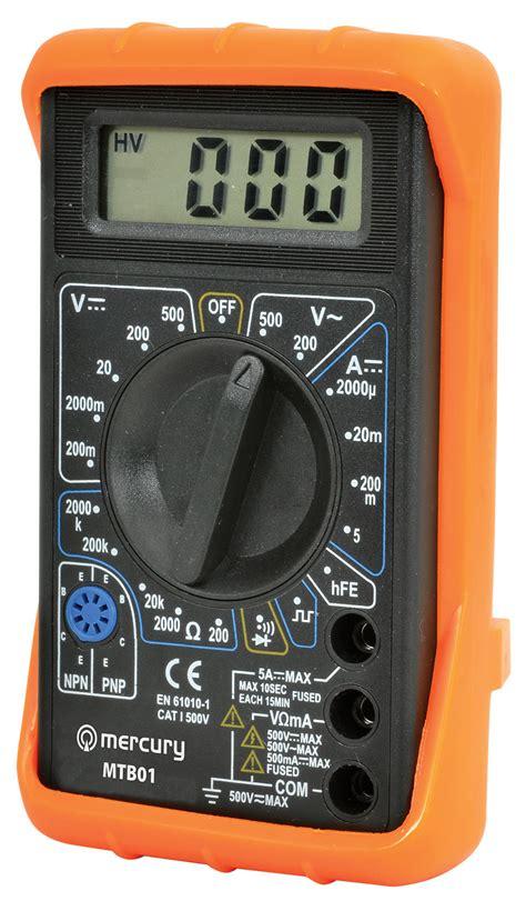 Multitester Digital digital multitester multimeter voltmeter 19 range 7 func