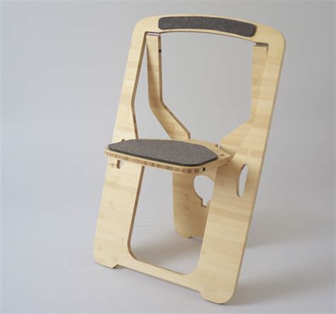 modern folding chairs modern update to the folding chair is sustainable