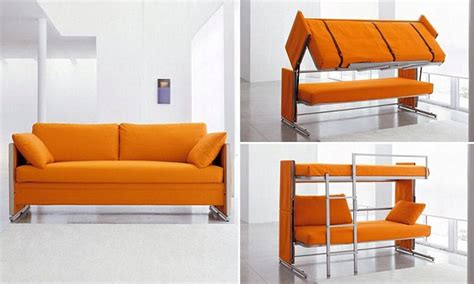 how to make up a bed 163 3 000 sofa that transforms into a bunk bed daily mail