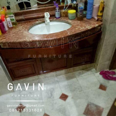 harga meja wastafel granit kitchen set minimalis lemari pakaian custom hpl duco dan laker