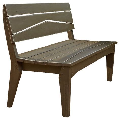 rustic outdoor bench with back hourglass 2 seat bench with back rustic distressed